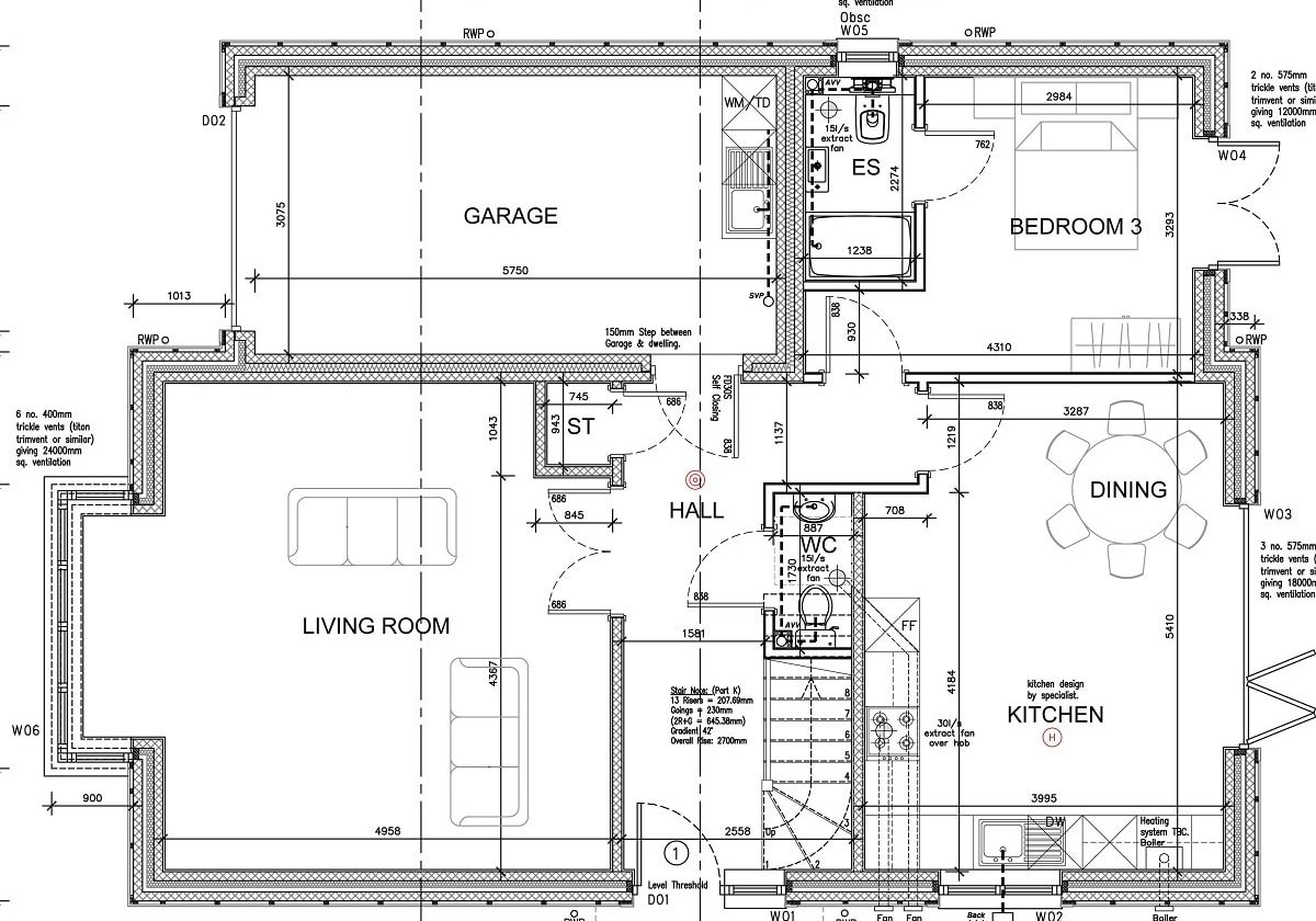 plot 1 Ground floor plan-min