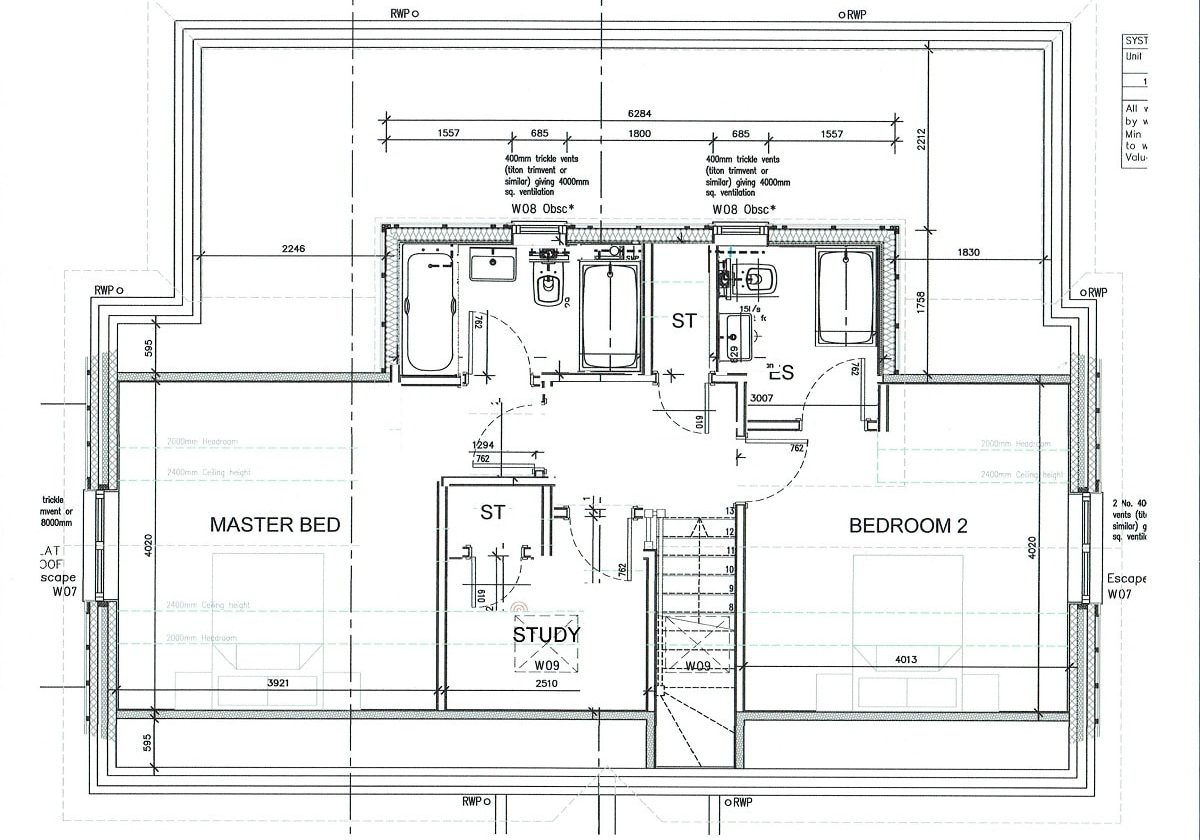 plot 1 first floor plan-min